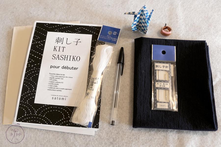 contenu du kit pour débuter le sahiko de satomi sakuma