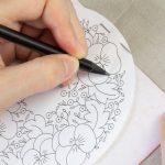 Comment transférer un motif avec du papier carbone