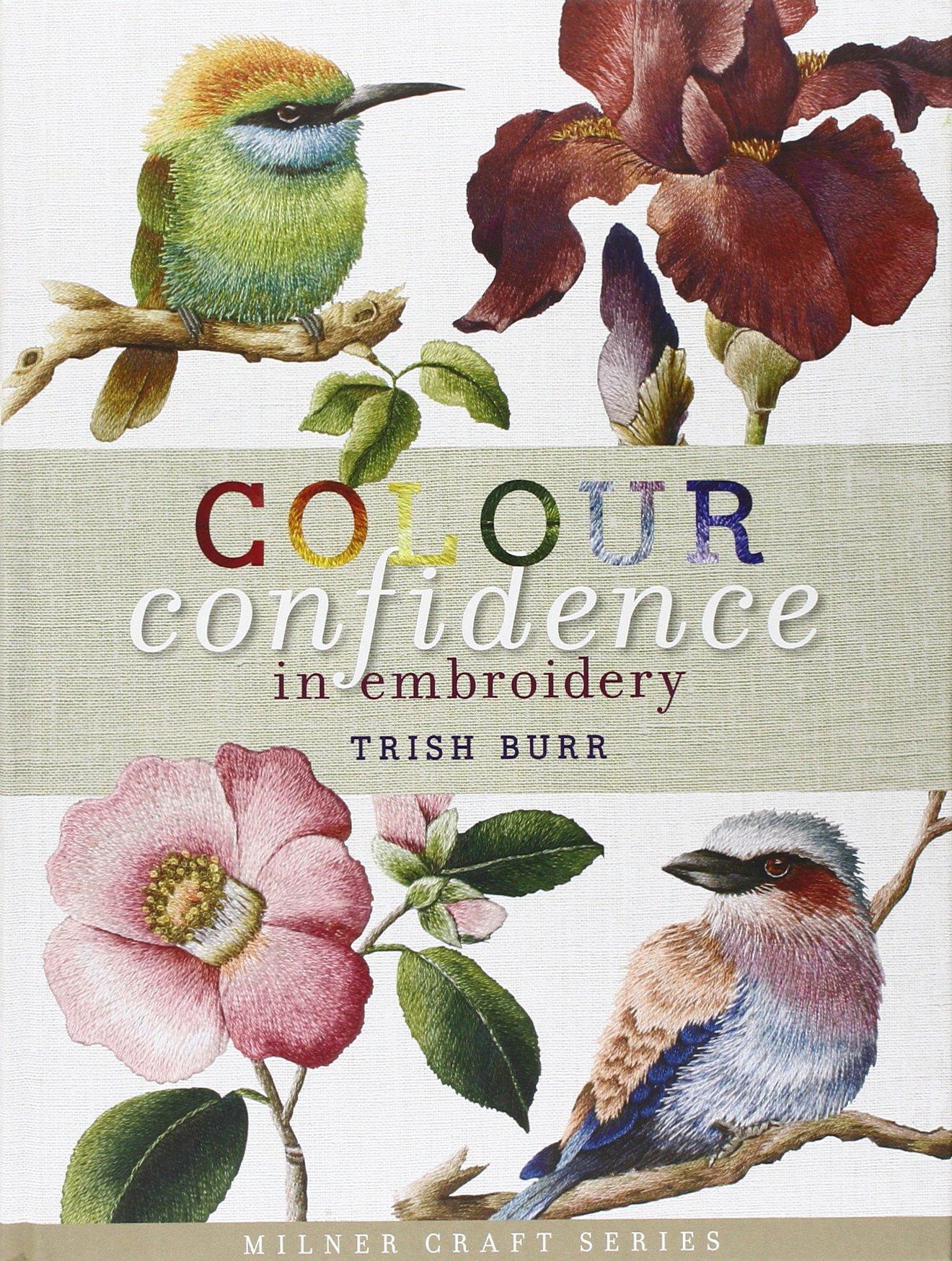 couverture du livre colour confidence in embroidery