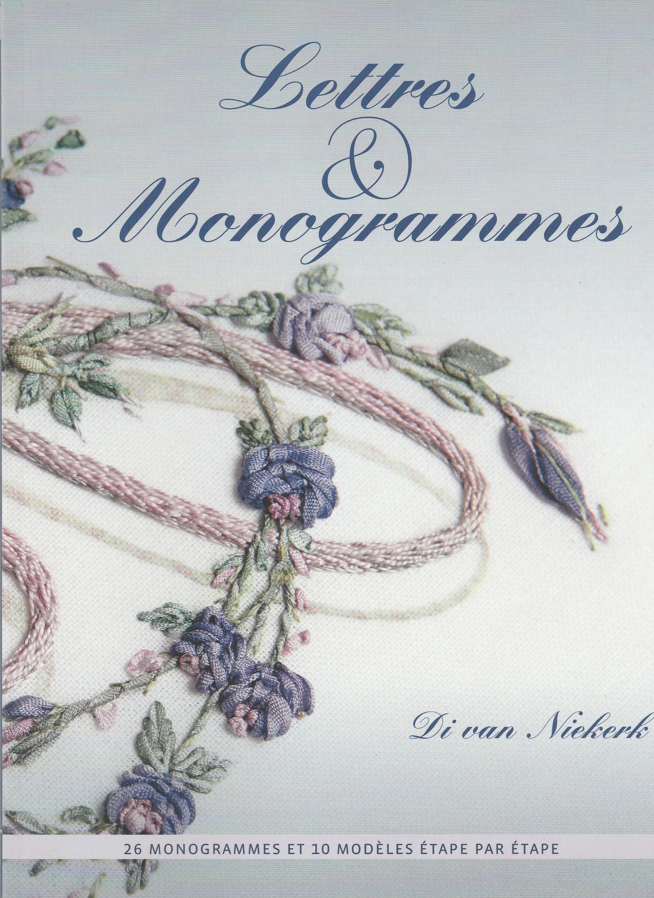 couverture du livre Lettres et Monogrammes