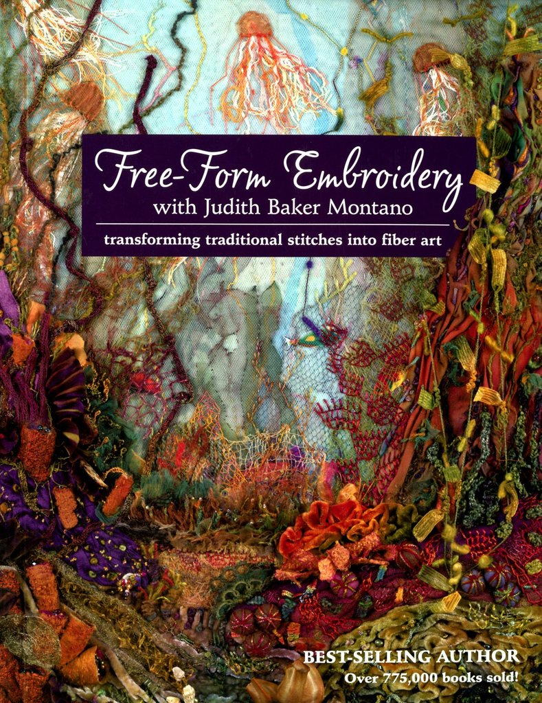 couverture du livre Free-Form Embroidery with Judith Baker Montano