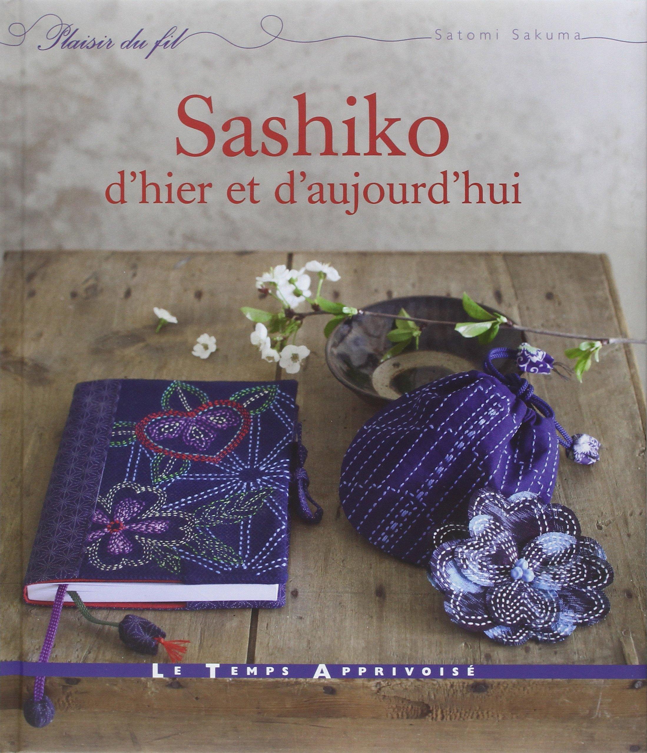 couverture du livre Sashiko d'hier et d'aujourd'hui de Satomi Sakuma