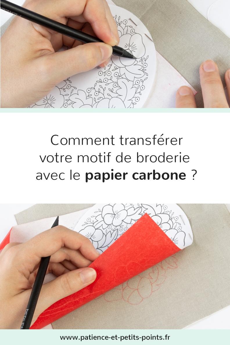 découvrir le transfert par papier carbone