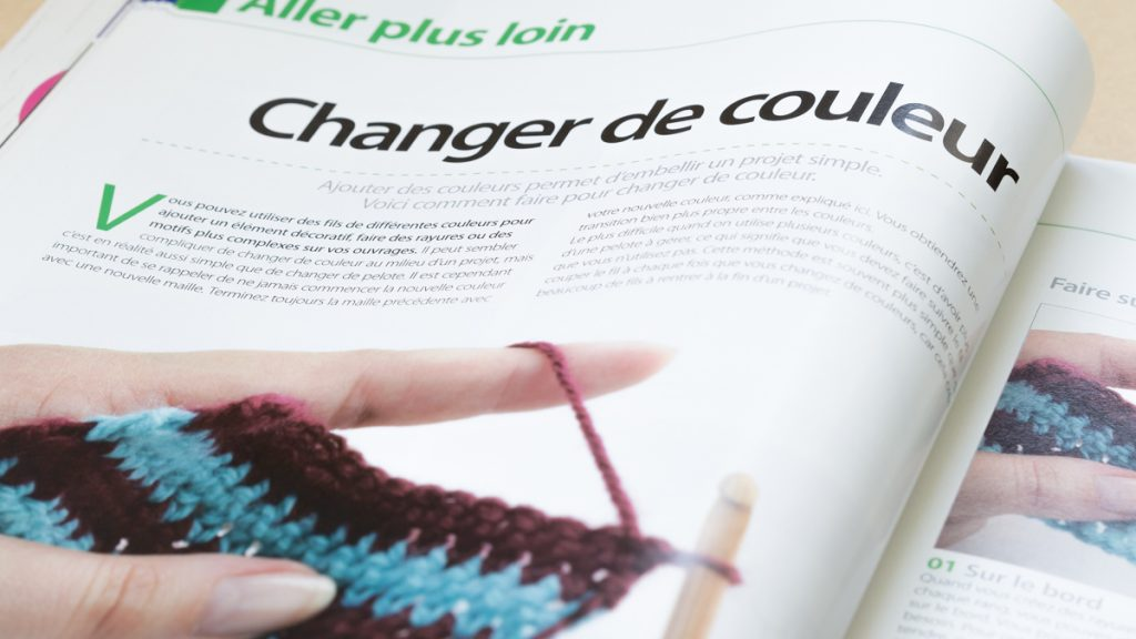 magazine crochet