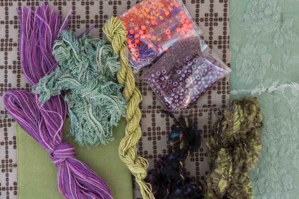 Fournitures du kit baies de la forêt de Léa Stansal