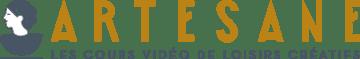 logo artesane - cours vidéo de loisirs créatifs