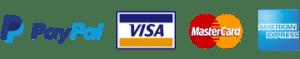 paiement sécurisé Paypal ou paiement sécurisé par carte