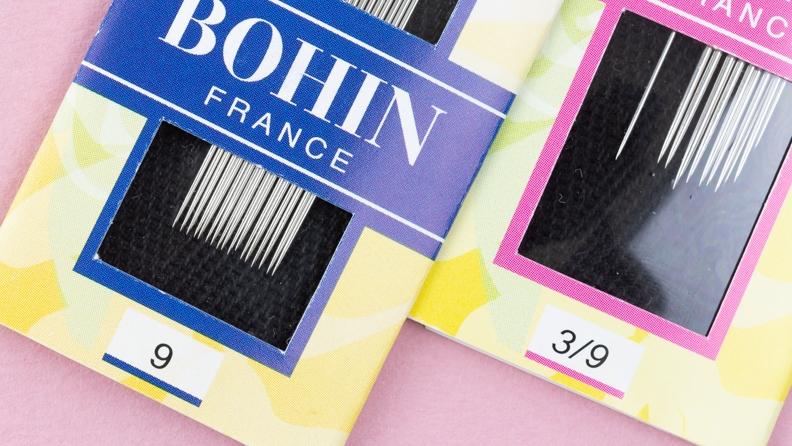 paquets d'aiguilles Bohin