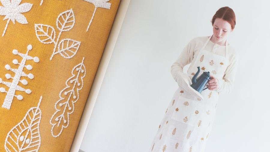 Livre de broderie: 38 motifs nature à broder de Yumiko Higuchi