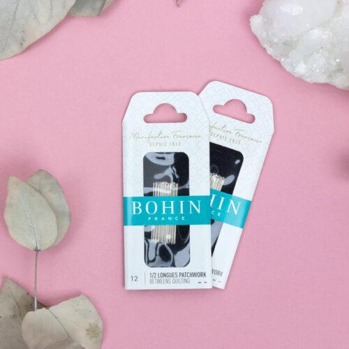 Paquets d'aiguilles 1/2 longues patchwork - Bohin