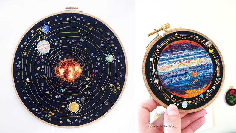 système solaire - Ophélie Trichereau